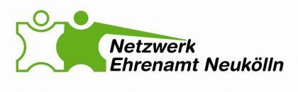 Das Bild zeigt das Logo des Netzwerk Ehrenamt Neukölln, ein Netzwerkpartner des Neuköllner EngagementZentrums.