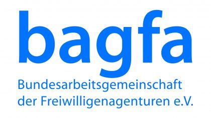 Das Bild zeigt das Logo der Bundesarbeitsgemeinschaft der Freiwilligenagenturen e.V., ein Netzwerkpartner des Neuköllner EngagementZentrums.