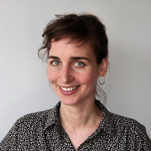 Das Bild zeigt die Projektleiterin Sophia Neubert.