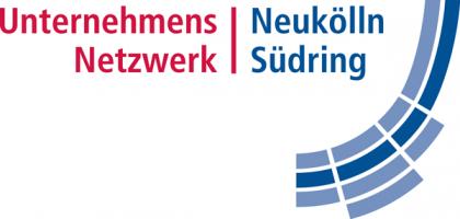 Das Bild zeigt das Logo des Unternehmensnetzwerks Neukölln Südring e.V., ein Netzwerkpartner des Neuköllner EngagementZentrums.